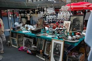 Antiques Market on Britanksi Trg