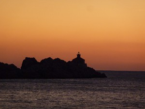Sonnenuntergang in Dubrovnik Lapad