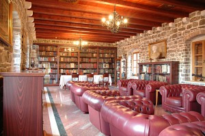 Library of the citadel in Budva