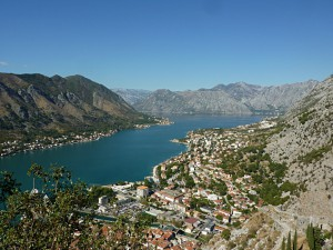 View from the fortress of Kotor