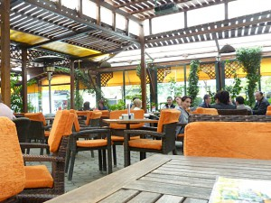 Comfy café in Tirana