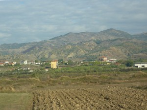 Agriculture in the Albanian outback
