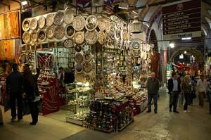 Entering orient in the Grand Bazaar