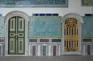 Zweite Begnung mit dem Orient im Topkapi Palast