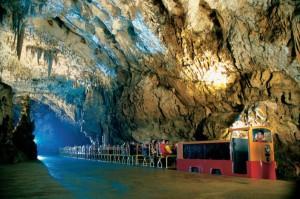 Cave railway