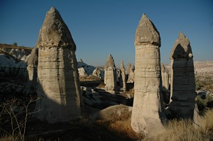 The rock formations in Zemi Valley
