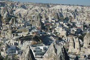 The town of Göreme