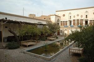 The traditional hotel Khan-e Ehsan