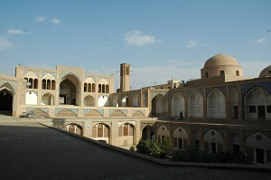 The Agha-Bozorg mosque in Kashan