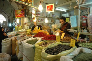Shopping in Esfahan: Spices, nuts and dried fruits