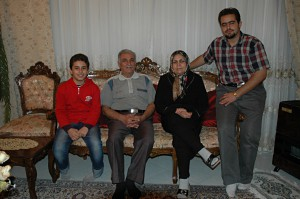 Mr. and Ms. Sattari and their two nephews