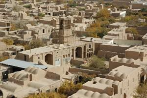 The desert town of Meybod
