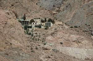 The pilgrim site of Chak Chak of the Zoroaster