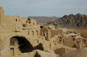 Desert settlement of Kharanaq