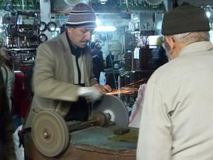 Malatya: Messerschleifen fürs Opferfest