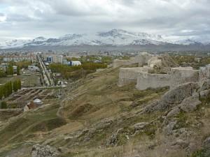 Die Aussicht von der Festung Van