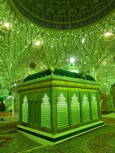 The shrine of Imam Reza's