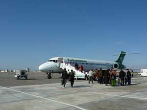 Turkmenistan Airlines: Which type of aiplane is it?
