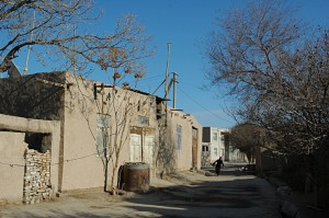 Street in the old town of Khiva