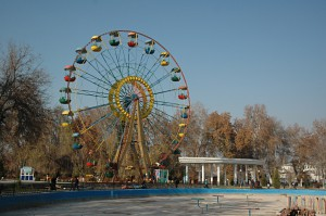 Every larger city in Uzbekistan has its own Ferris wheel