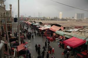Market in Hotan: Sunday makert on Tuesday