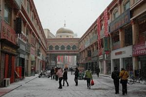 Hotan: The joy of snow