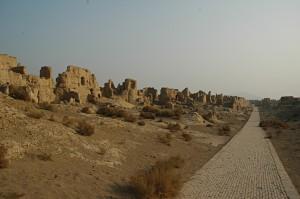 The ruins of Jiaohe