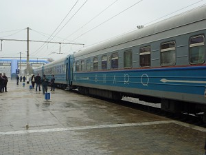 The Sharq-Express: Express train from Bukhara via Samarkand to Tashkent