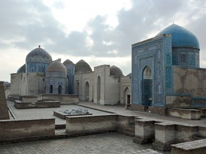 Shah-i-Zinda: Avenue of the mausoleums