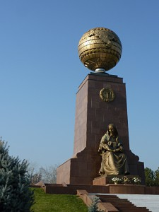 The monument of the Crying Mother in the Independence Park