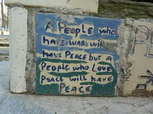 Wisdom in the Seattle Peace Park