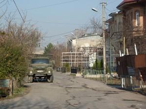 Usbek part of town in Tashkent