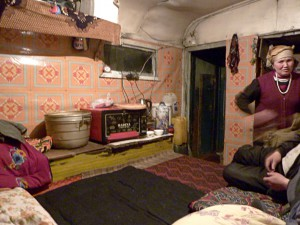 Guesthouse in Irkeshtam: Eating and sleeping surface