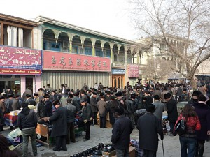 Friday after prayer: They fill the streets
