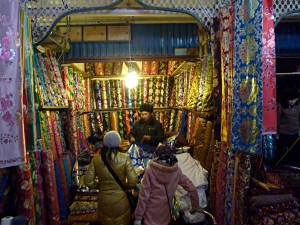 Shopping in Kashgar: Textiles on the Sunday Market
