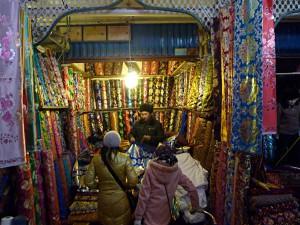 Shopping in Kashgar: Textiles on the Sunday Market