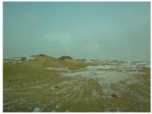 In the Takla Makan desert