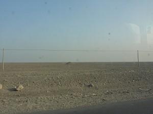 The next desert near Turpan