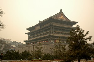 The Drum Tower of Xian
