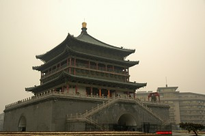 The Bell Tower of Xian