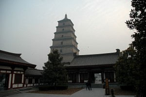 The Big Wild Goose Pagoda in Xian