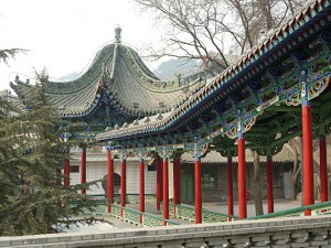Temples near the White Pagoda in Lanzhou