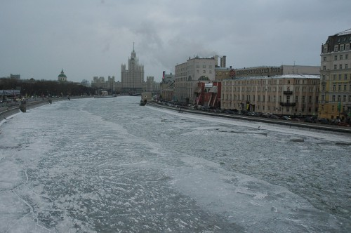 The river Moscow in Moscow