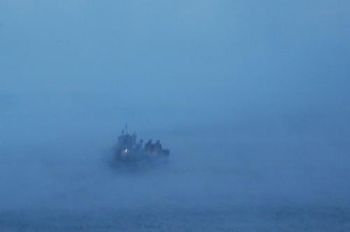 Mystical Ferry on Lake Baikal
