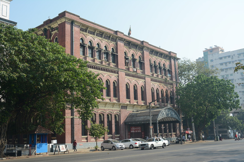 The Yangon General Post Office: architecture from Myanmar's colonial past