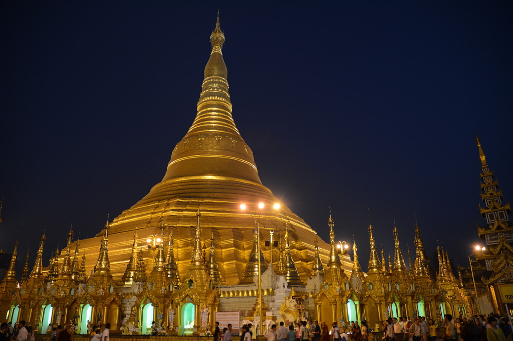 Myanmar's most famous icon: Shwedagon Paya in Yangon
