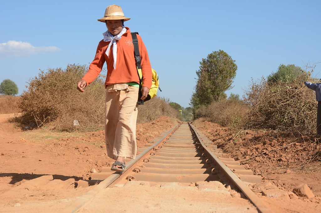 Our guide Kyaw Min not only knew the way, but also had a lot to share about local culture