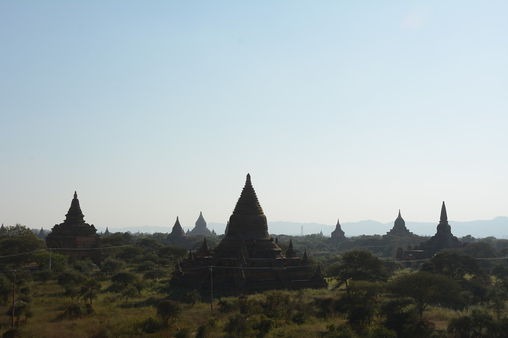 Bagan during the afternoon