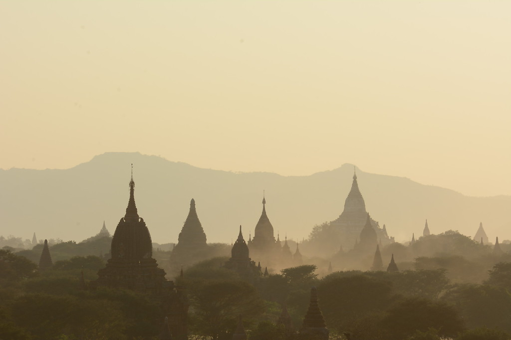Bagan in the late afternoon