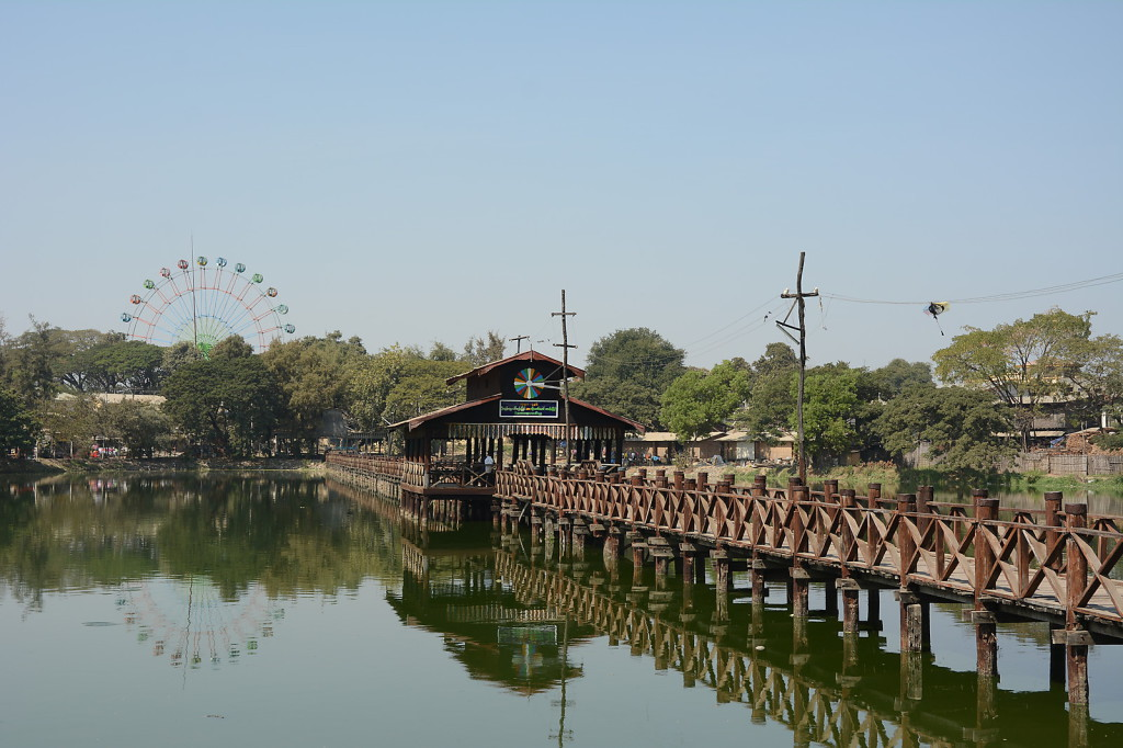 There are more wooden bridges than just  U Bein's bridge